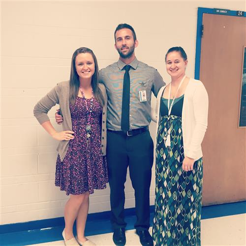 Mrs. Christman, Mr. Embick, and Ms. McSheehy
