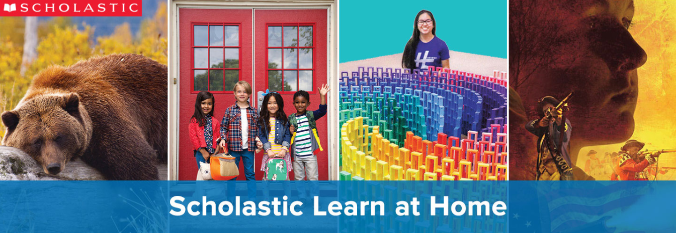 SCHOLASTIC LEARNING AT HOME