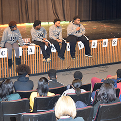 Eighth Grade Students Get Preview of High School with Transition Days
