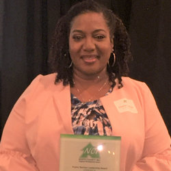 Cheryl Latham Receives Public Service Leadership Award