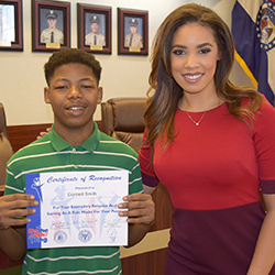 Southeast Middle School Student Recognized By 'Do The Right Thing'