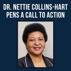 Dr. Nettie Collins-Hart Pens a Call to Action