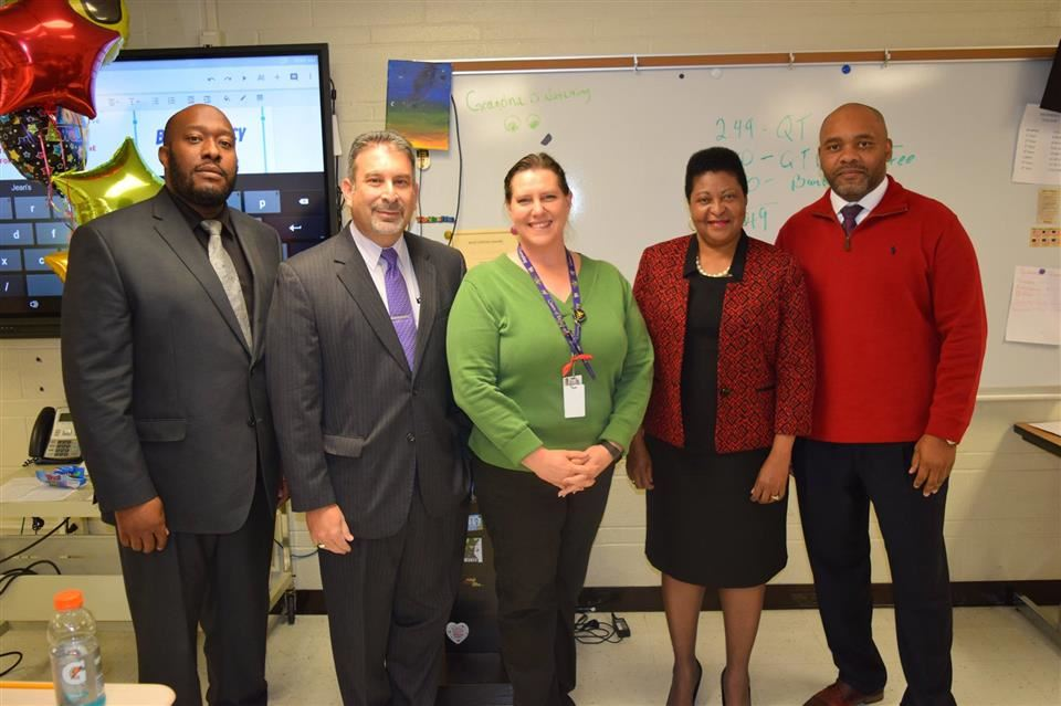 Hazelwood Opportunity Center Teacher Earns Emerson Teacher of the Year Award