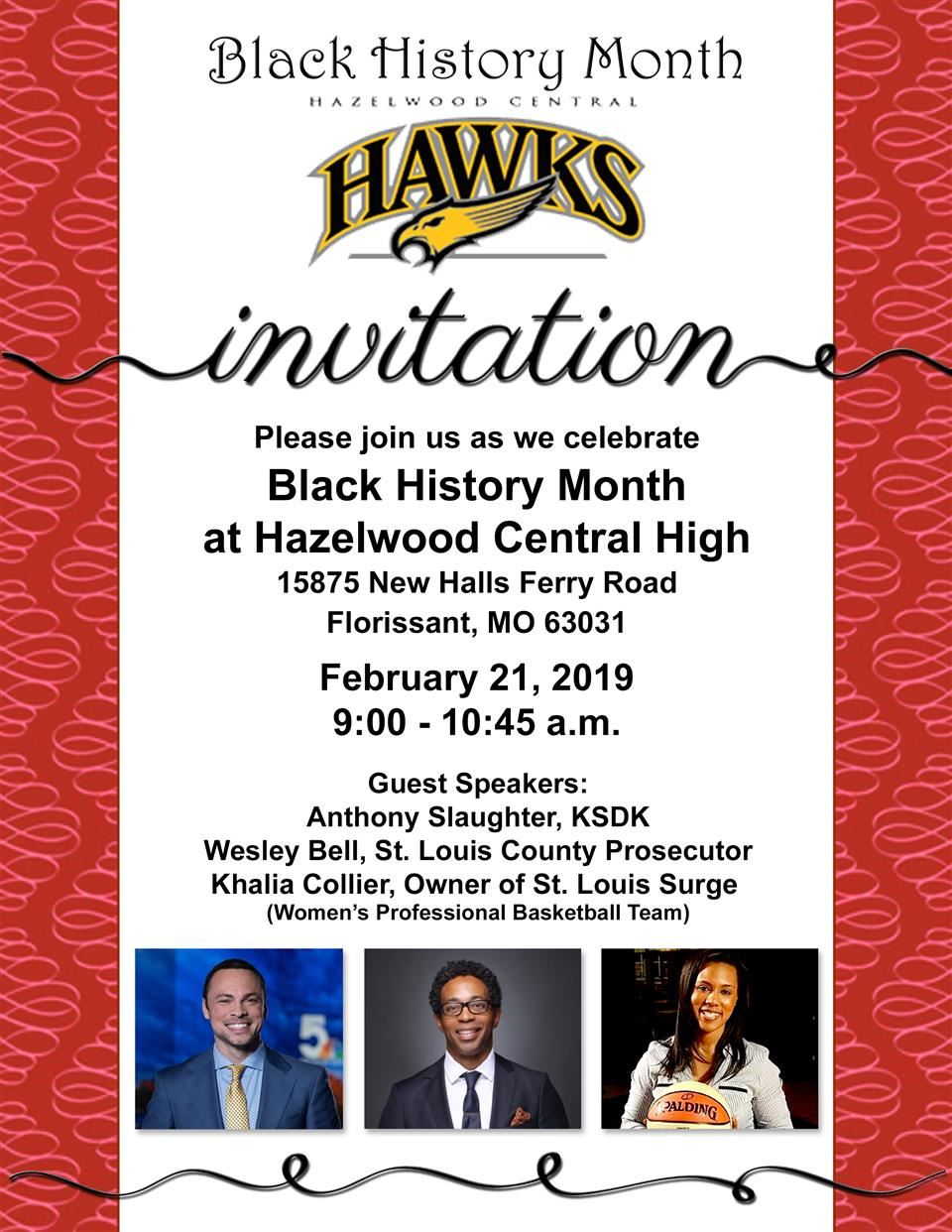 Black History Month at  Hazelwood Central High School