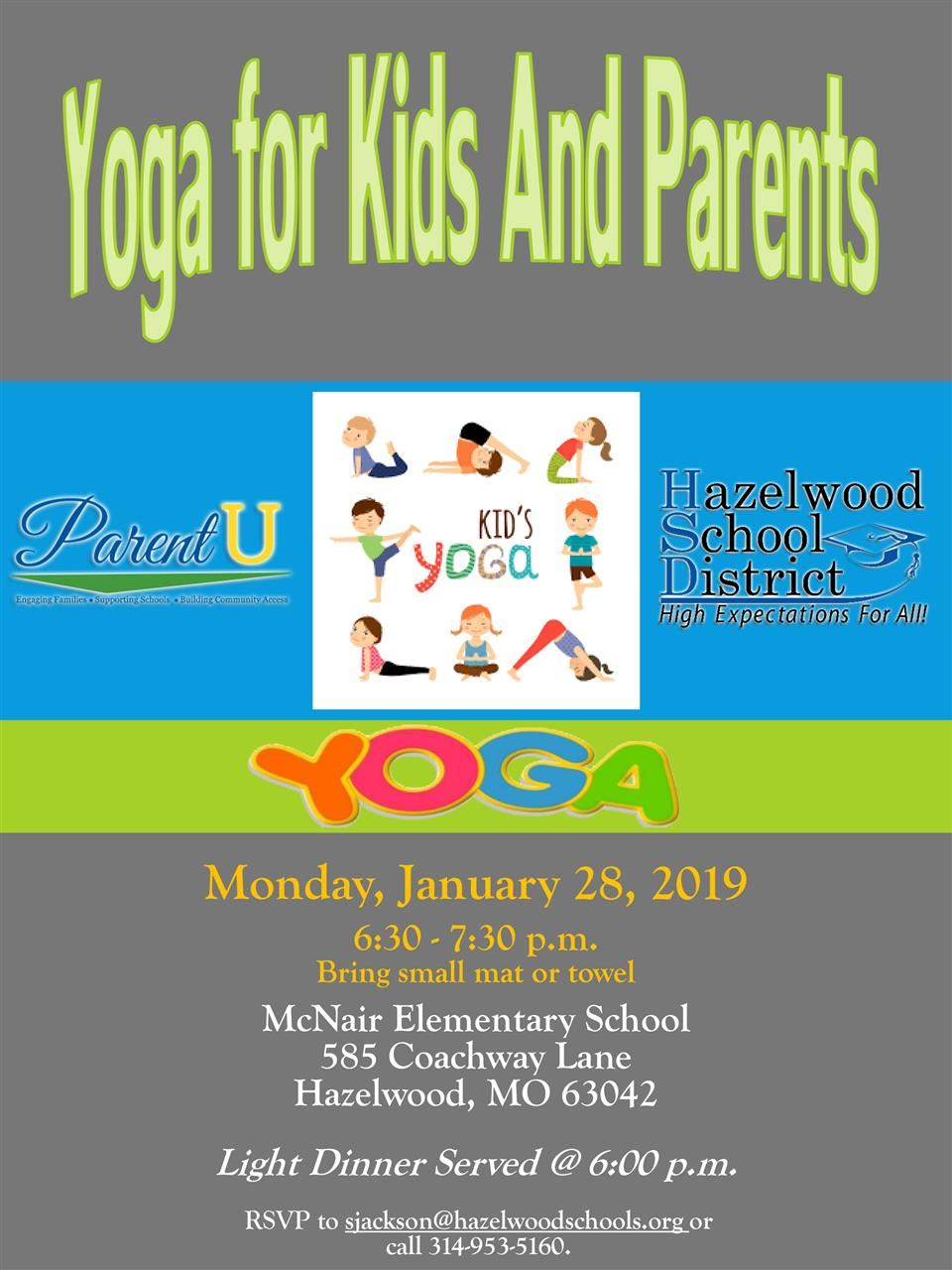 Yoga for Kids and Parents