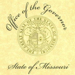Missouri Governor's Proclamation of School Board Recognition Week