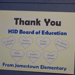 HSD Celebrates School Board Recognition Week