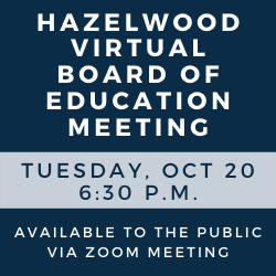 Virtual Board of Education Meeting - Oct. 20, 2020