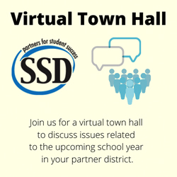 SSD is hosting a Virtual Town Hall