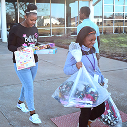 North Middle School Gives Back to the Community
