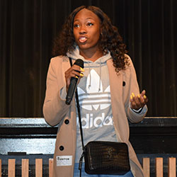 Central High School Alum Ashley Henderson Inspires Students