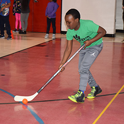 St. Louis Blues Bring Hockey to McNair Elementary