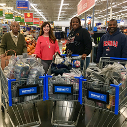 Florissant Rotary Club provides clothing for Hazelwood students