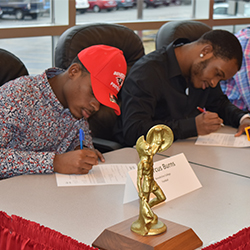 Hazelwood Student-Athletes Make College Commitments Official on National Signing Day
